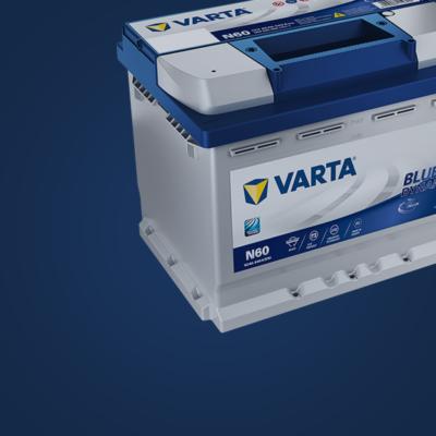 Auto accu Varta start-stop-systemen